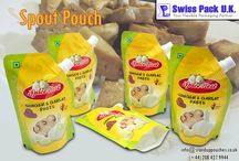 Spout Pouches / Enjoy your delicious beverages and liquids without any leakage or breakage by using our #SpoutPouches available in different styles and sizes. Read more at http://www.standuppouches.co.uk