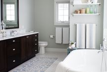 Home Inspiration - Bathrooms / by Emily Betts