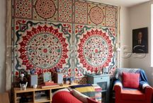 Rugs, tapestries, textiles