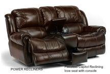 Flexsteel Reclining Furniture / Flexsteel is one of the top brands.