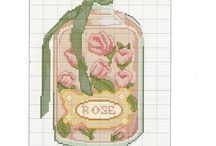 Cross stitch for bedroom