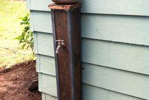 Water Feature/Garden Taps