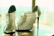 Wedding Shoes & Dresses