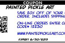 coupons / www.paintedpickleart.com