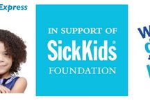 Funnel Cake Express Supports the Sick Kids Foundation / Funnel Cake Express will support the Sick Kids Foundation by donating all our tips