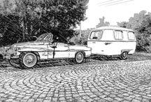 karosa W4 - Dingo / Czech carawan 1961