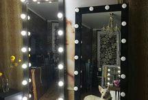 Зеркало Лампа