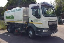 Road sweeper livery completed make sure you stand out from the crowd