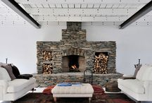 Fireplaces / by Renee Michelle