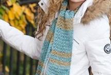 Crochet headgear and winterwear