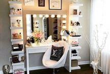 Ideas mesa de maquillaje