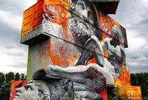 Urbano / Que serian nuestras calles sin estas obras de arte.