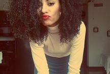 afro / Cabelos naturais afro