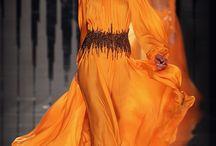 Fashionably Orange
