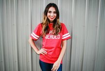 Gameday Girls / Game day look book 2016