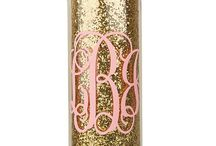 Monogram it up! / by Kristin Crall 🎀💄