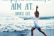 The Love Quotes Celebrity Quotes : This quote by Bruce Lee is meant to inspire you to set goals and break through t…
