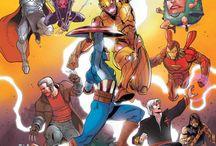 HQ Marvel & DC