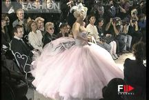"""GALLIANO 2"""" Fashion Show Play the 50's in 1995 in Paris"""