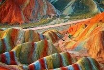 colorful sands