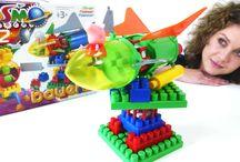 Детское видео с игрушками