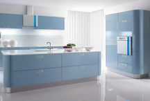 Blue in the Kitchen