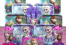 Frozen Party Ideas / Need Frozen party ideas? We have you covered with a variety of Elsa, Anna and Olaf inspired table decorations, favor kits, balloons and more! See more party ideas at CostumeSuperCenter.com. / by Costume SuperCenter