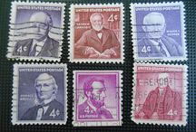 U.S.Postage Stamps / Vintage U.S Postage Stamps