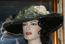 """Downton Abbey Hats by East Angel Harbor Hats / The PBS series """"Downton Abbey"""" has sparked the latest hat and fashion trends. The Downton Abbey Hat spans from before WWI through the Flapper Era. These Downton Abbey Hats encompass the Titanic Edwardian Hat as well as the cloche style Flapper hats of the 1920's when women were finding their both their voice and style. The Downton Abbey hats look great on women of all ages. You'll enjoy choosing your Downton Abbey hat from my shop as I have an ample assortment.  Call me with your special order."""