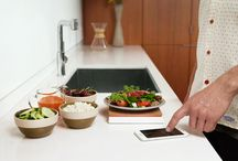 Countertop / Countertop is an amazing new system that helps you eat better and get the most out of your kitchen. It also works with devices you already own, like your Vitamix blender, Crock-Pot® slow cooker and fitness trackers like UP by Jawbone, so your kitchen can serve you, not the other way around. / by Orange Chef