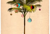Palm Tree New Year Decor
