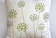 Embroidery Design Pillow