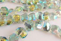 Glaskralen / losse glaskralen kristal-facet of swarovski-style