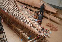 Trebåt bygging