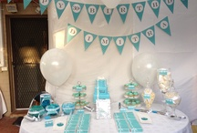 Tiffany themed party / Dimitra's 30th