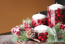 Vánoce / věnce a dekorace