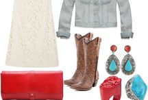 All things Red & Turquoise...LOVE!!!