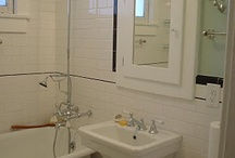 Restoring our 1920's bathroom w/updated elements / by Joleen Sylvester