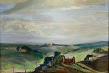 Minnesota Nice: Rural Minnesota in Historic Paintings / Paintings of historic, rural landscape scenes of Minnesota.