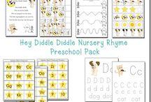 nursery rhyme & fairy tale theme