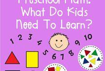 Maths (preschool)
