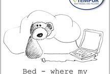 Sometimes only TEMPUR® will do! / Just a bit of fun!
