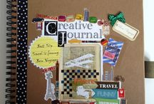junk journal & scrapbook & wreck this journal