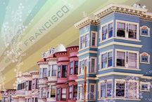 Art | San Francisco, CA / Wall art featuring the great city of San Francisco by Imagekind artists.