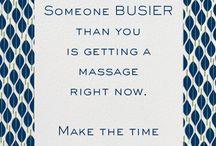 Massage stuff! / by Brianna Maynard