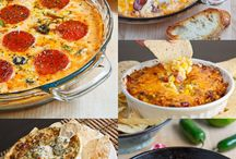 Dip Recipes / Dips fit for a party.