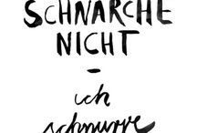 Sprüche - Sayings, proverbs