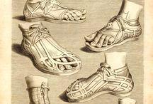 Ancient Roman Sandals