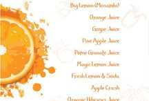 SEASONAL FRUIT JUICES / Seasonal Fruit Juices and other varieties