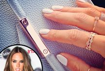 White Hot Mani / What's hotter than color in summer? A White Hot Nail Mani! Loving this sexy look, recreate it with Gel Polish, Acrylic Nails or Gel Nails